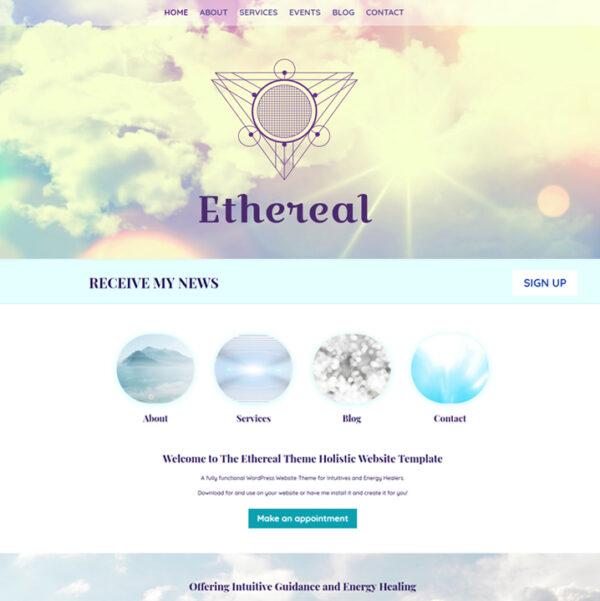 Metaphysical Website Theme