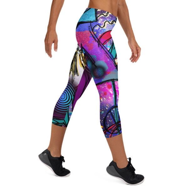 psychedelic and visionary art leggings