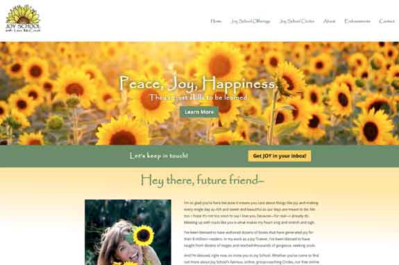 Spiritual Web Design