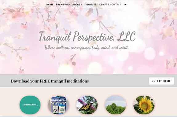 Spiritual Website Design