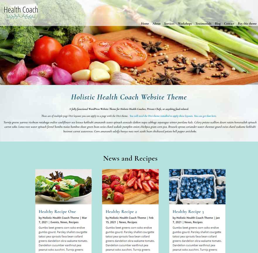 Life Coaching Websites, Spiritual Coaching Websites, Web Design for Coaches