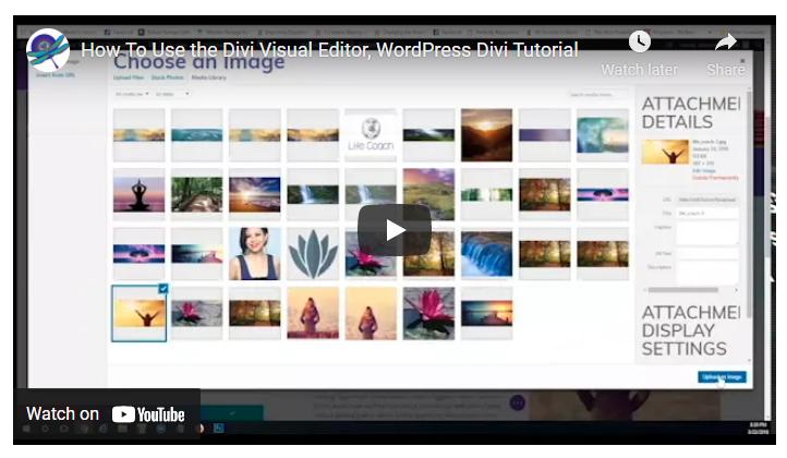 Divi Website Design Tutorials